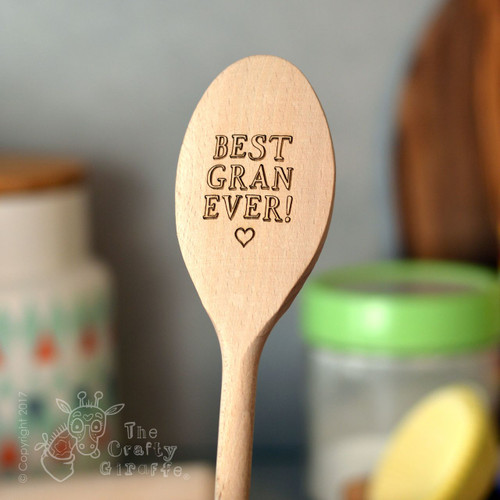 Personalised Best Mum Spoon
