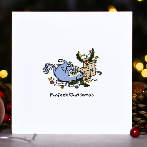 Buy Purfect Christmas Card From The Crafty Giraffe, the home of unique and affordable gifts for loved ones...
