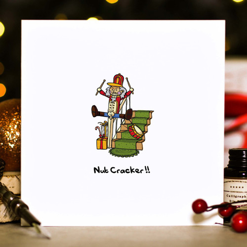 Buy Nut cracker Christmas Card From The Crafty Giraffe, the home of unique and affordable gifts for loved ones...