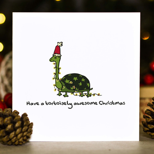 Buy Have a tortoisely awesome Christmas Card From The Crafty Giraffe, the home of unique and affordable gifts for loved ones...