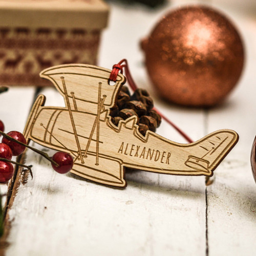 Personalised Plane Decoration