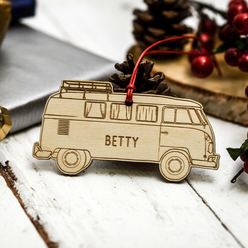 Personalised Campervan Decoration