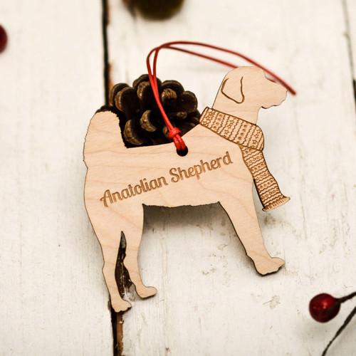 Personalised Anatolian Shepherd Decoration