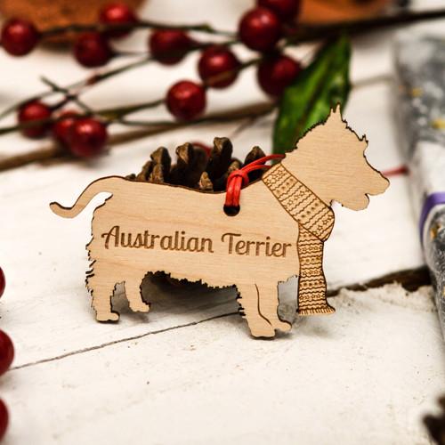Personalised Australian Terrier Decoration