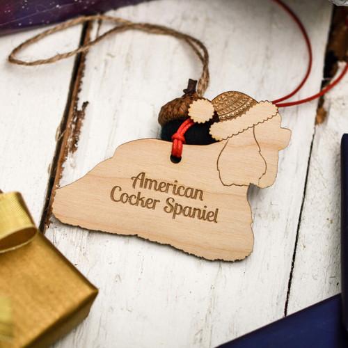 Personalised American Cocker Spaniel Decoration