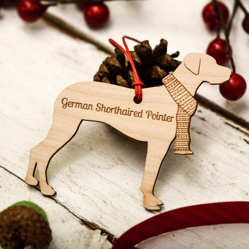 Personalised German Shorthaired Pointer Decoration