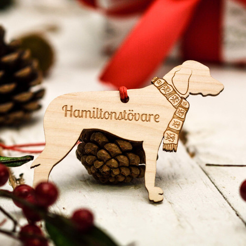 Personalised Hamiltonstovare Decoration