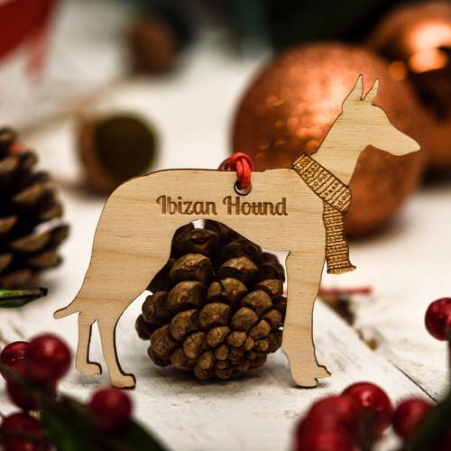 Personalised Ibizan Hound Decoration