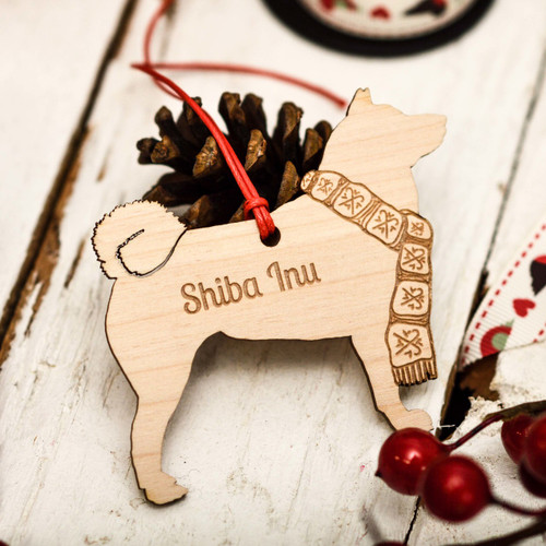 Personalised Shiba Inu Decoration