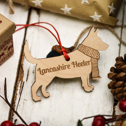 Personalised Lancashire Heeler Decoration