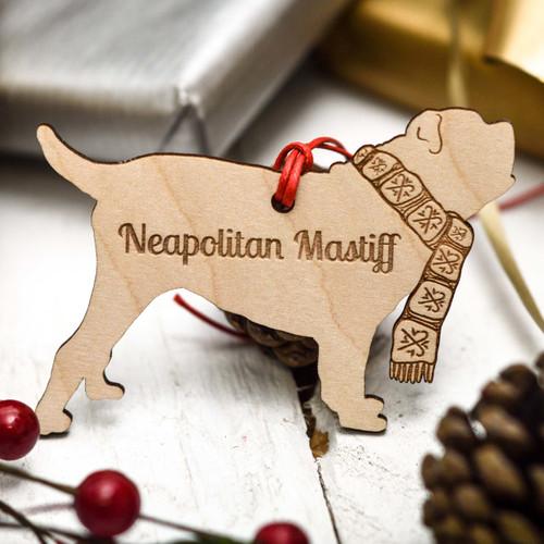 Personalised Neapolitan Mastiff Decoration