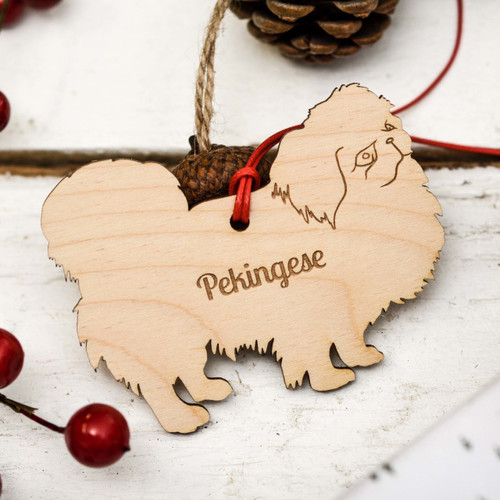Personalised Pekingese Decoration