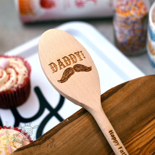 Personalised Moustache Spoon