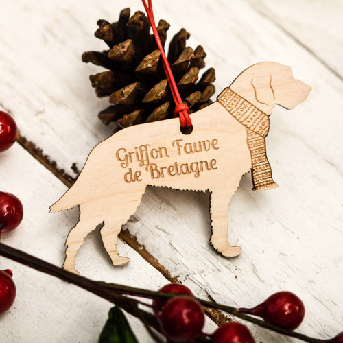 Personalised Griffon Fauve de Bretagne Decoration