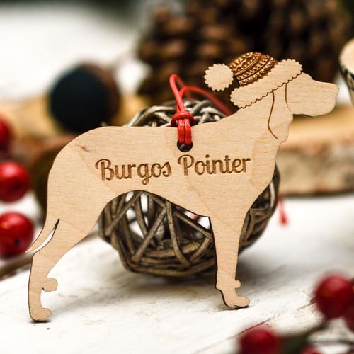 Personalised Burgos Pointer Decoration