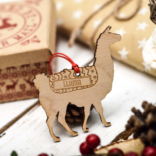 Personalised Llama Pet Decoration