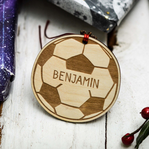Personalised Football Decoration