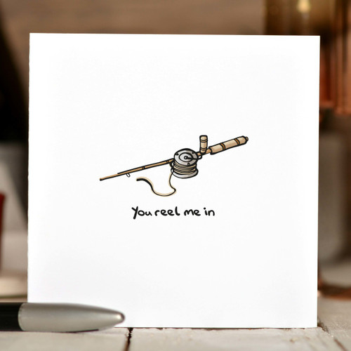 You reel me in Card
