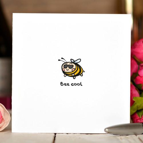Bee Cool Card
