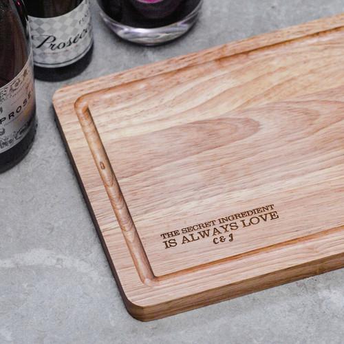 Personalised The Secret Ingredient Valentines Board