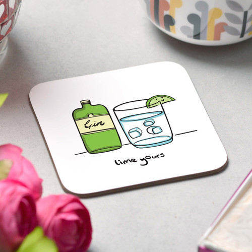 Lime yours Coaster