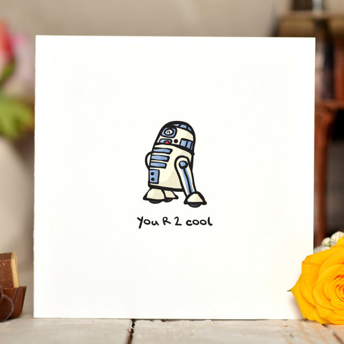 You R 2 cool Card