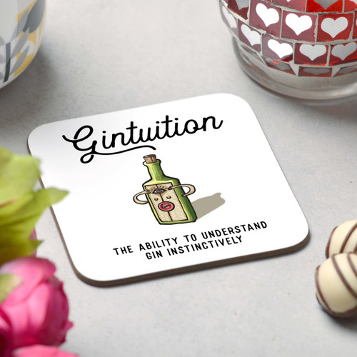 Gintuition Coaster