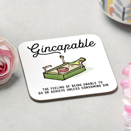 Gincapable Coaster