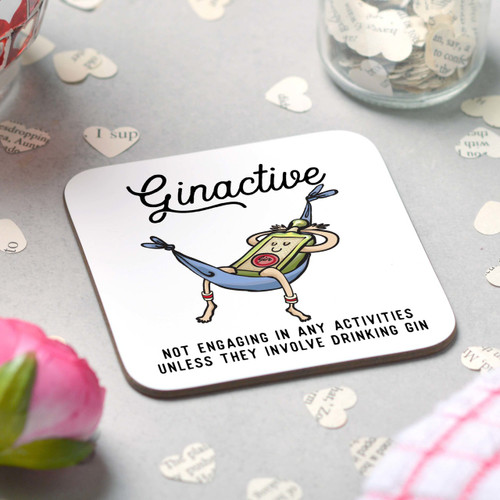Ginactive Coaster