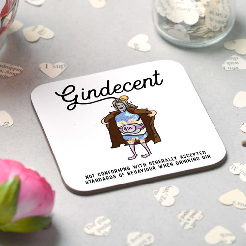 Gindecent Coaster