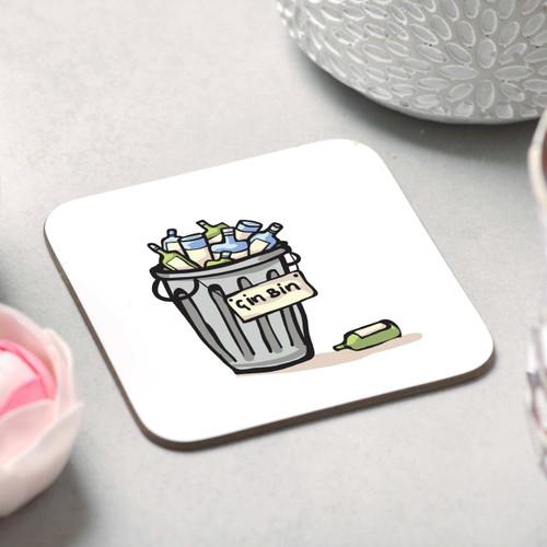 Gin Bin Coaster