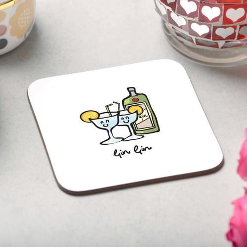 Gin Gin Coaster