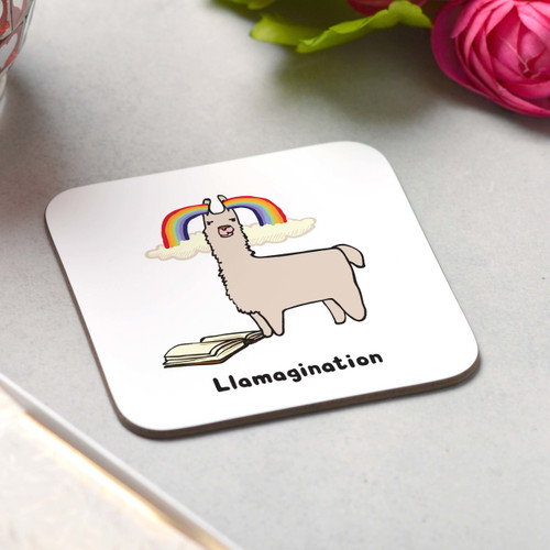 Llamagination Coaster