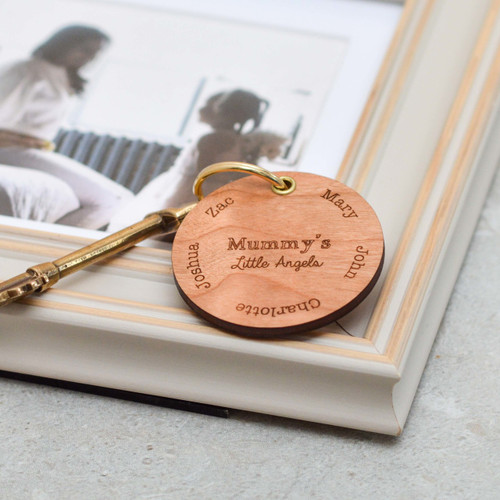 Personalised Special Names Mothers Day Keyring