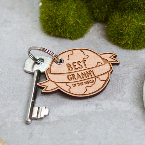 Personalised Best in the World Keyring