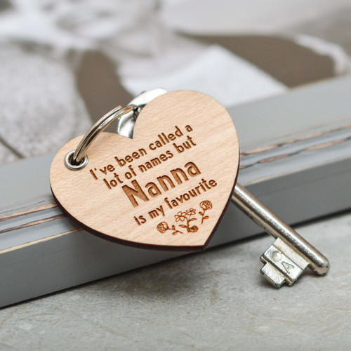 Personalised I've been called alot of names Keyring