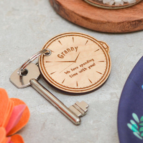 Personalised Watch Keyring