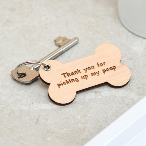 Personalised Bone Keyring