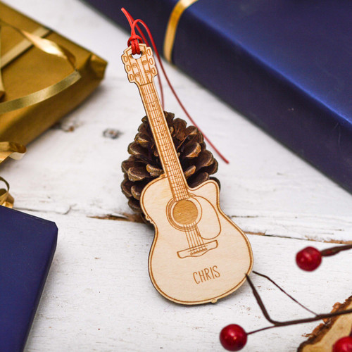 Personalised Guitar Decoration