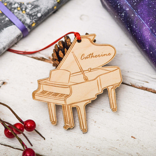 Personalised Piano Decoration