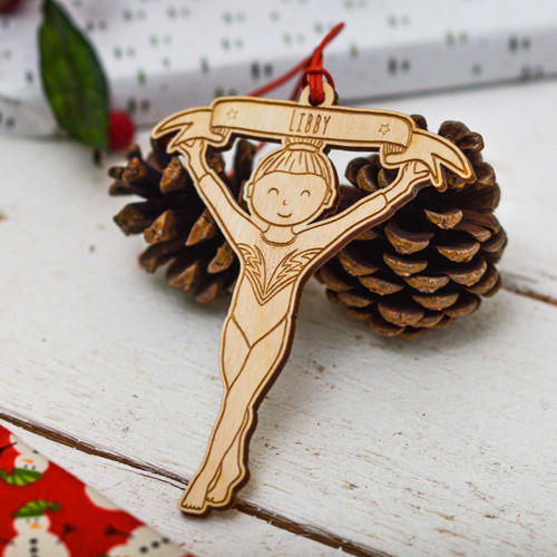 Personalised Gymnastics Decoration