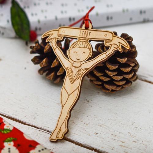 Personalised Gymnastics Decoration