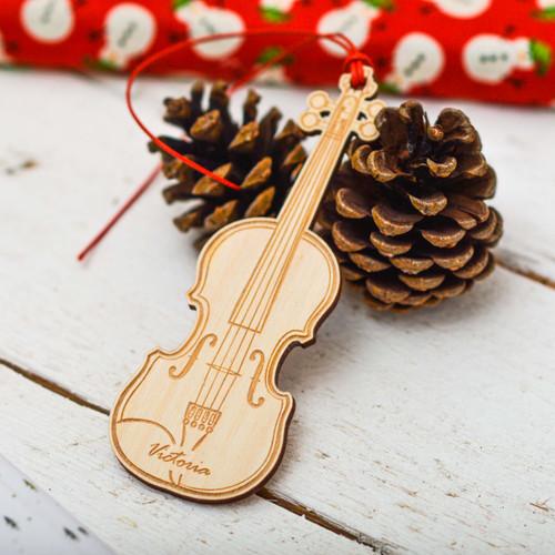 Personalised Violin Decoration