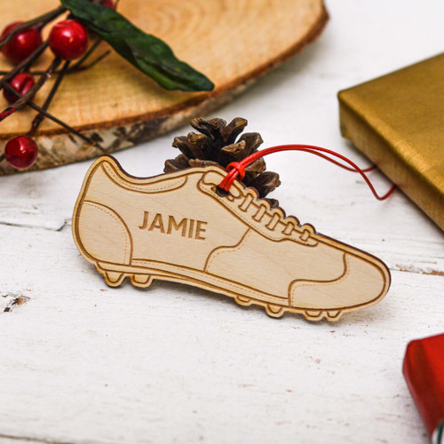 Personalised Football Boot Decoration