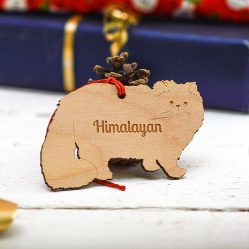 Personalised Himalayan Cat Decoration