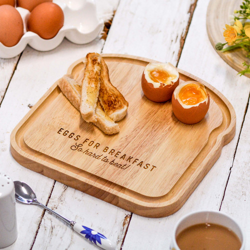 Personalised Breakfast Egg Board - Hard to beat