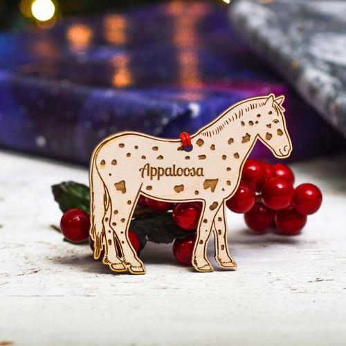 Personalised Appaloosa Horse Decoration