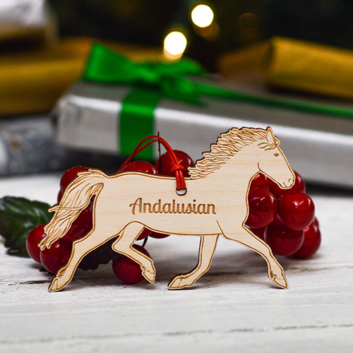Personalised Andalusian Horse Decoration