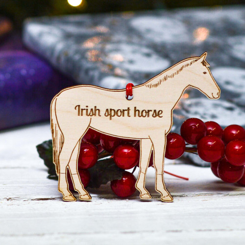 Personalised Irish Sport Horse Decoration