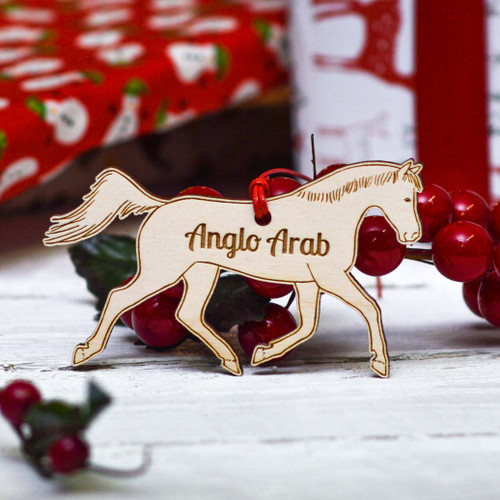 Personalised Anglo Arab Horse Decoration